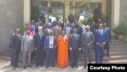 Gouvernement et groupes armés en réunion de suivi de l'accord de paix 1