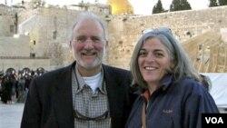 Esta foto de la familia Gross fue tomada en Jerusalén en 2005.