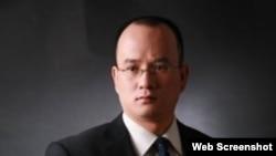 中國知名法律人郝勁松。(民生觀察推特賬戶截圖)