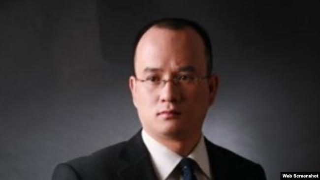 中国知名法律人郝劲松。(民生观察推特账户截图)