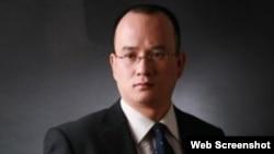 中國知名法律人士郝勁松。 (民生觀察推特賬戶截圖)