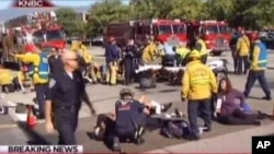 加州枪击案14死17伤