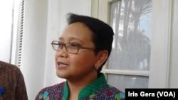 Menteri Luar Negeri Indonesia, Retno Marsudi (Foto: VOA/Iris Gera)
