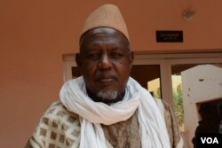 Imam Mohamed Dicko, president of Mali's Islamic High Council. (K. Hoije/VOA)