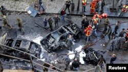 Coche bomba en el centro de Beirut deja cuatro muertos y por lo menos 70 heridos.