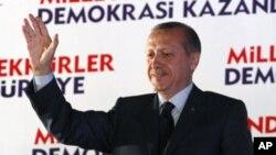 ترکی کی حکومت انتخابات میں فتح کے قریب