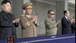 金正日父子出席朝鲜阅兵