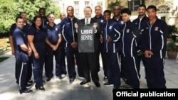 Səfir Robert Sekuta ABŞ-ın Boks üzrə Olimpiya komandası ilə görüşüb