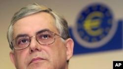 希腊新任命的总理帕帕季默斯(资料照)