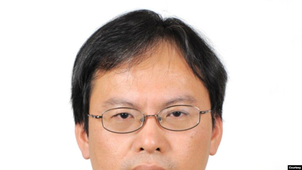 中研院政治所研究员蔡文轩。(蔡文轩提供)(photo:VOA)