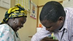 Amadou Matar Seck joint par Anasthasie Tudieshe