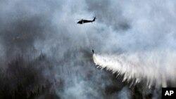 Один із наслідків кліматичних змін - часті пожежі