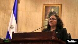 Liduvina Magarín, viceministra para salvadoreños en el Exterior, visitará albergues en El Paso y McAllen, Texas.