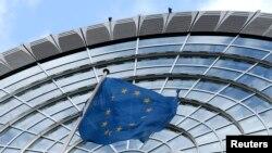 벨기에 브뤼셀의 유럽의회 건물. (자료사진)