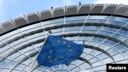 Trụ sở của Nghị viện châu Âu ở Brussels.