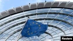 벨기에 브뤼셀의 유럽 의회 건물. (자료사진)