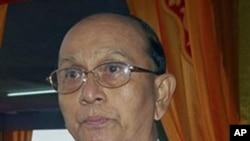 ທ່ານ Thein Sein ປະທານາທິບໍດີທີ່ຖືກເລືອກຕັ້ງໃໝ່ຂອງມຽນມາ.