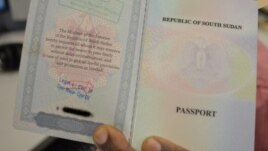 To complement its normal passport, shown here, South Sudan has issued a business passport.