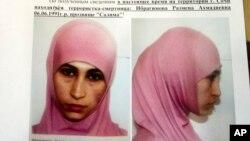 Cảnh sát Nga đang truy lùng phụ nữ tên là Ruzanna Ibragimova, có thể đang có mặt gần Sochi và có thể đang hoạch định một cuộc tấn công.