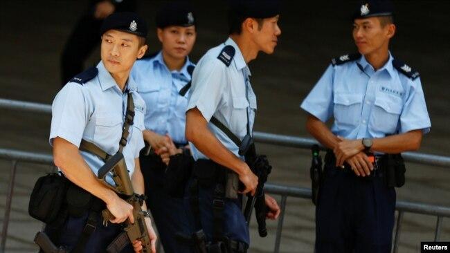 An ninh được siết chặt trước chuyến thăm của Chủ tịch Trung Quốc Tập Cận Bình, 29/6/2017.