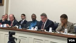 Members of U.S. Congress At Subcommittee Hearing on Future U.S.-Zimbabwe Relations