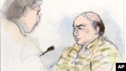 Sudski crtež Marka Baseleja Jusefa