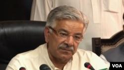 وزیر دفاع خواجہ آصف