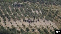 Türkiyəyə daxil olan Suriya qaçqınlarının sayı 1600-ə çatıb