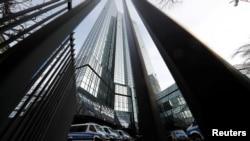 Sede del Deutsche Bank en Frankfurt, Germany, el 29 de noviembre de 2018.
