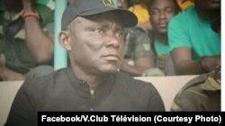 "Gérénal Gabrieil Amisi Kumba ""Tango Four"" mokambi ya AS. V.Club, Kinshasa. (Facebook/V.Club Télévision)"