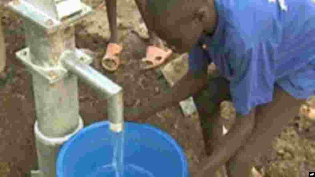 De l'eau propre pour un monde sain.