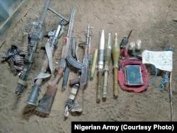 Boko Haram militantlarının silahları