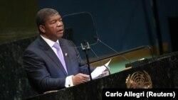 Presidente de Angola, João Lourenço, discursa na cimeira da Paz Nelson Mandela. Nova Iorque, 24 de Setembro 2018