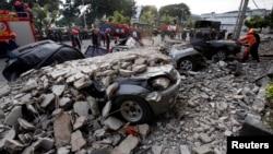 菲律賓地震災場