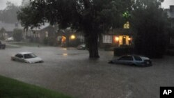 Одна из улиц Оклахома-Сити.