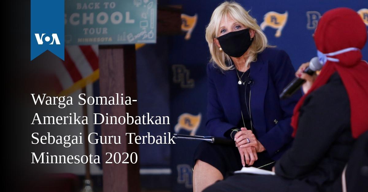 Warga Somalia-Amerika Dinobatkan Sebagai Guru Terbaik Minnesota 2020