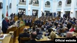 Skupština Crne Gore na Cetinju raspravlja o Protokolu o pristupanju Crne Gore NATO-u (gov.me)