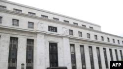 美国联邦储备委员会在首都华盛顿的总部大楼。