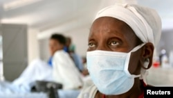 A patient who tested positive for extreme drug resistant tuberculosis in South Africa. (File).