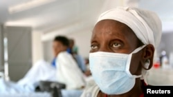A patient who tested positive for extreme drug resistant tuberculosis (XDR-TB) awaits treatment at a rural hospital. (File photo).