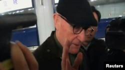 지난 3월 북한에 억류되어 있던 호주인 선교사 존 쇼트 씨가 석방돼 중국 베이징 공항에 도착했다.