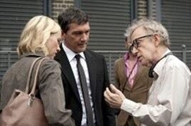 Left to Right: Naomi Watts, Antonio Banderas and Woody Allen