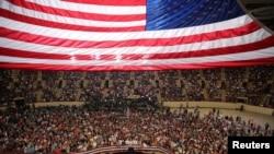 Tổng thống Trump chủ trì cuộc mít tinh đánh dấu 100 ngày đầu nắm quyền ở Harrisburg, Pennsylvania, 29/4/2017