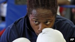 U.S. boxer Rau'shee Warren, July 14, 2011 (AP).