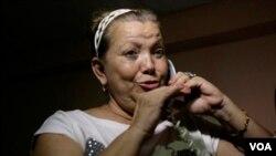 Desde que Laura Pollán fue hospitalizada, hace una semana, estaba conectada a un respirador artificial.