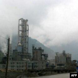 中国四川的一家工厂