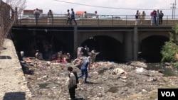 باشندگان پل سوخته از افزایش سرقت و بی بندوباری در آن ساحه شاکی اند