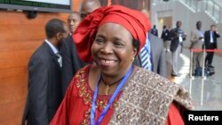 South African Nkosazana Dlamini-Zuma (July 2012)