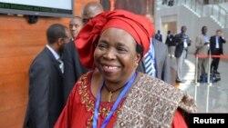 Chủ tịch Ủy ban Châu Phi Nkosazana Dlamini Zuma