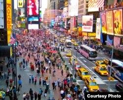 美国纽约时报广场